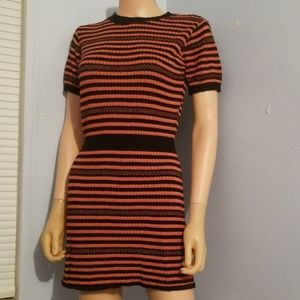 ❄ZARA KNIT SWEATER DRESS SMALL